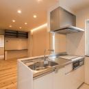 朽ちる家の写真 2階キッチン