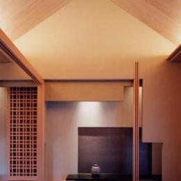 天井の高い和室