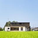 軽海の家の写真 とても贅沢な敷地に建つ住宅