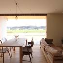 軽海の家の写真 四季に応じて移り変わる風景を眺めながら
