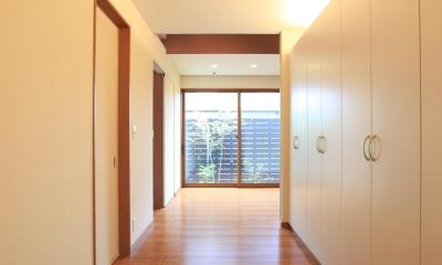 直方の家 (玄関)