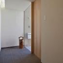 N-Frameの写真 シンプルな玄関