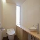 N-Frameの写真 明るいトイレ