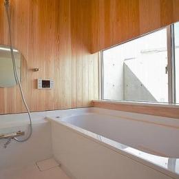 N-Frame (木を感じるバスルーム)