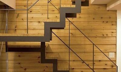 N-Frame (個性的な階段)