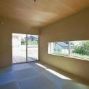 N-Frameの写真 窓が多い和室