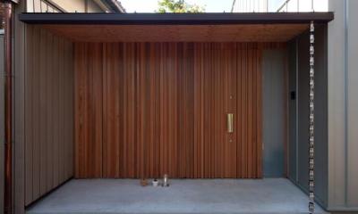 クラノイエ (木を感じる玄関扉)