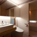 クラノイエの写真 広々としたトイレ