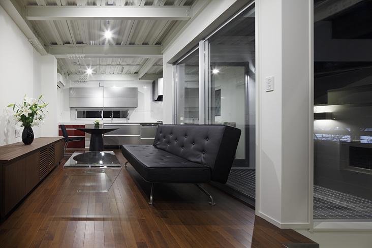 ハークネスの家の部屋 モダンな空間
