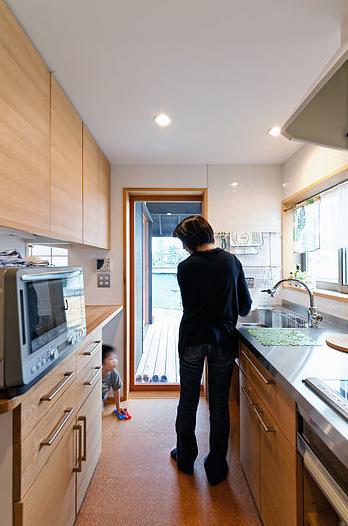 倭の家の部屋 キッチン