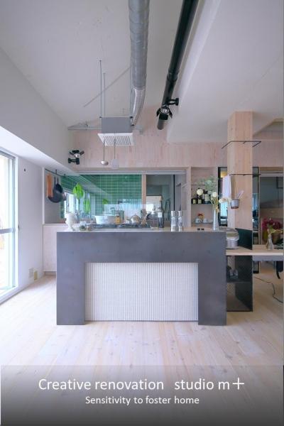 キッチン (Green Apartment58)
