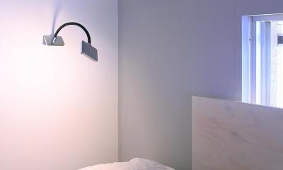 Green Apartment58 (ブラケット寝室)