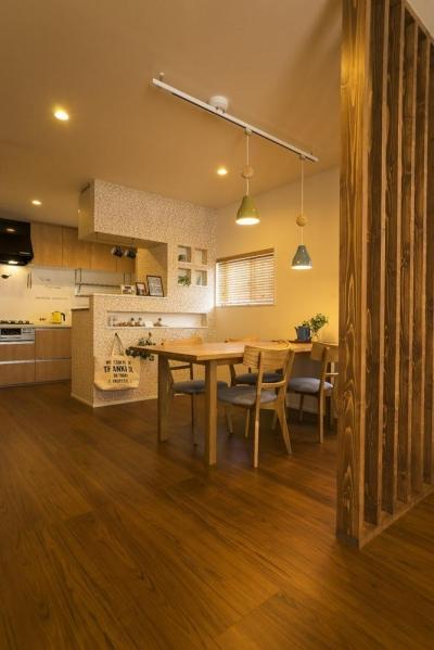 おうちカフェの家 (DINING&KITCHEN)