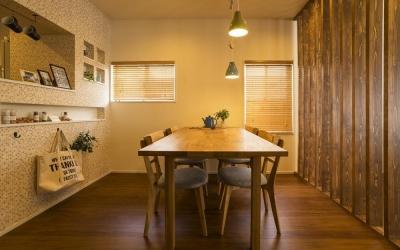 おうちカフェの家 (DINING)