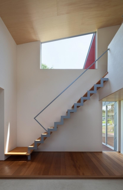菅尾の曲屋 (階段)