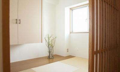古い桐箪笥や和の設えをアレンジ (和室)