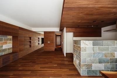 リビング (rehaus-an/上質な大人の空間へのマンションリフォーム)
