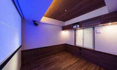 rehaus-an/上質な大人の空間へのマンションリフォーム (寝室)