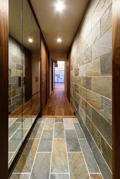 玄関 (rehaus-an/上質な大人の空間へのマンションリフォーム)