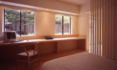 sato house (書斎)