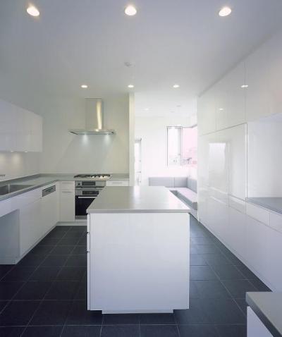 上長飯町の家 (キッチン)