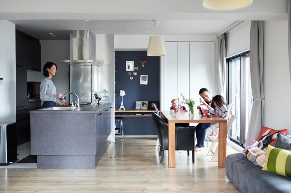 """インテリックス空間設計「築18年、将来の住み替えも視野に入れた""""中古購入+リノベーション""""」"""