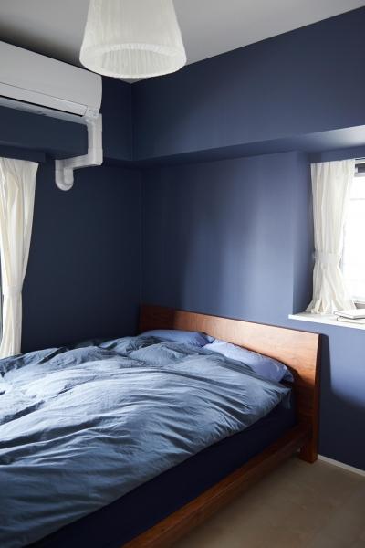 """ベッドルーム (築18年、将来の住み替えも視野に入れた""""中古購入+リノベーション"""")"""