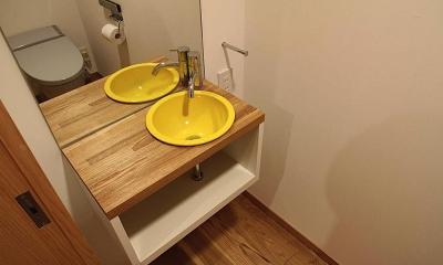 世田谷の家 (トイレ)