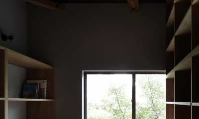 木籠 (壁収納のある書斎)