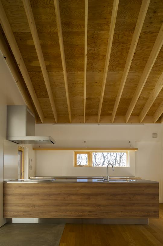 CNANの部屋 ゆったりとしたキッチン