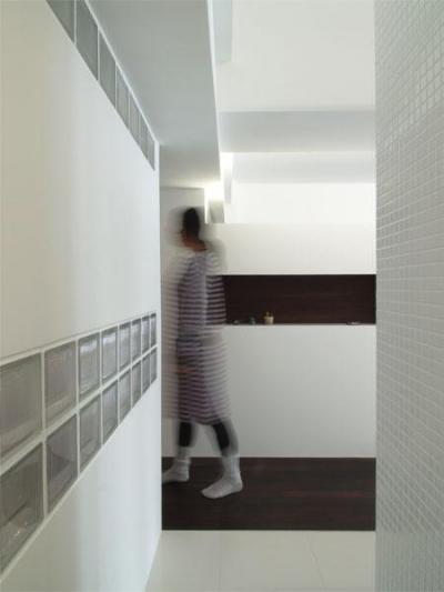"""廊下 (zebra-「収納魔」の奥様による全部""""しまえる""""部屋)"""
