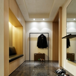 fujii house (玄関)