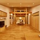 回光の家の写真 ライトアップしたリビング