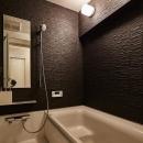 繭の写真 モダンなバスルーム