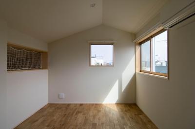 子ども室 (三層回遊の家)