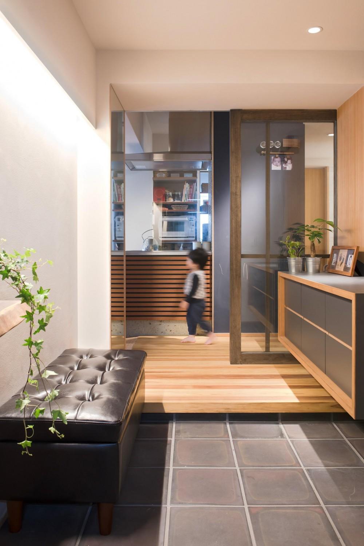 江戸川区Sさんの家 (玄関)