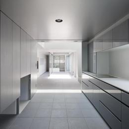 御器所の住宅 (開放的なキッチン)