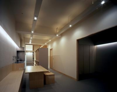 sonobe house (リビングダイニング2)