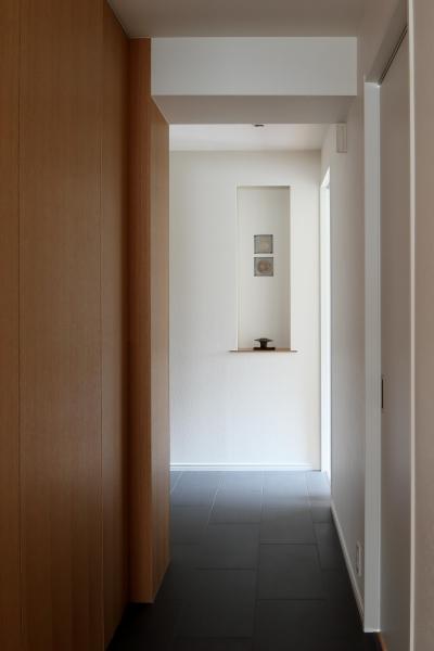 廊下 (シンプルと響きあう)