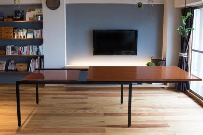 エクステンションテーブル (江戸川区Sさんの家)