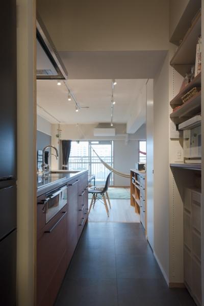 キッチン (江戸川区Sさんの家)