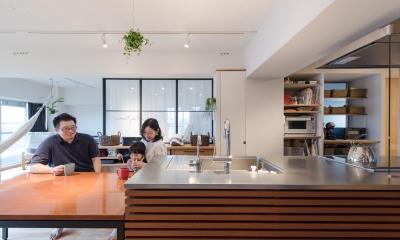 江戸川区Sさんの家 (ダイニングキッチン)