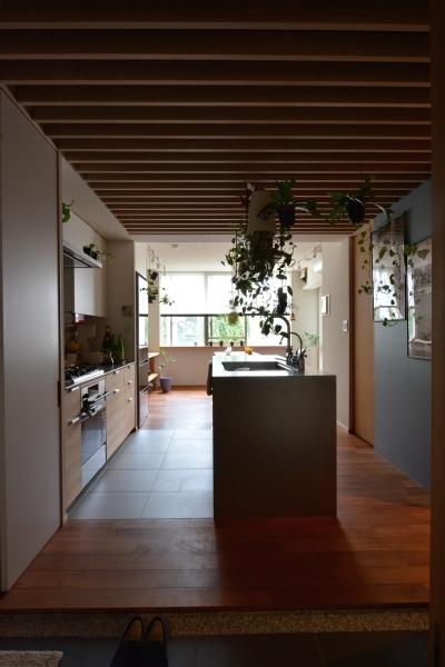 キッチン (不動前Tさんの家)