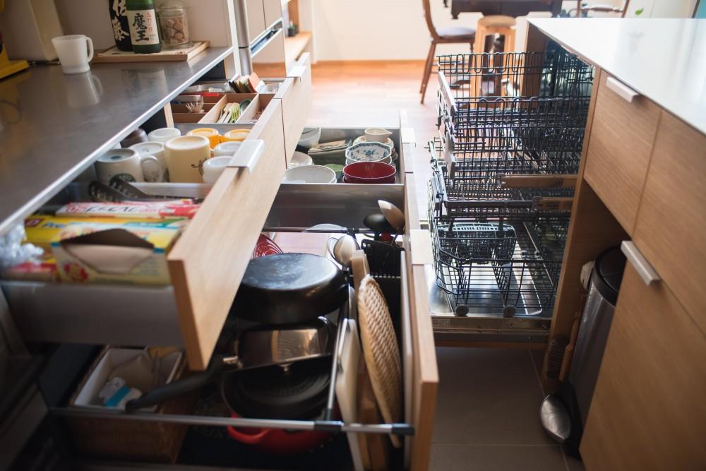 不動前Tさんの家 (キッチン)