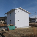house kの写真 白い外観