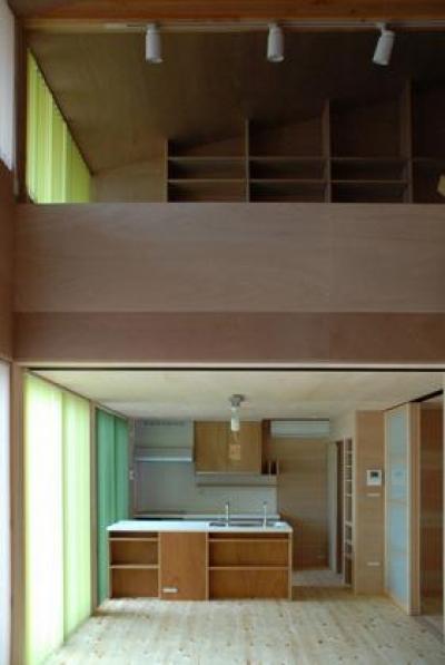 開放的な空間 (house k)