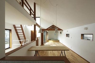 Hut room house/小屋部屋のある家 (2階LDK)
