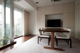 orisaku house (リビングダイニング2)