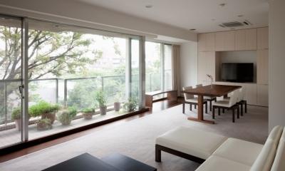 orisaku house (リビングダイニング)
