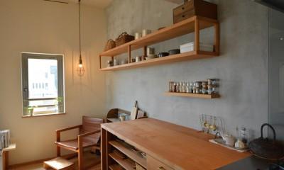 文京区Iさんの家 (キッチン)